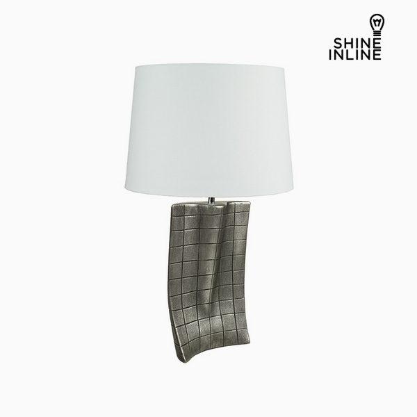 xekios Lampe de bureau Argent Céramique (40 x 9 x 66 cm) by Shine Inline