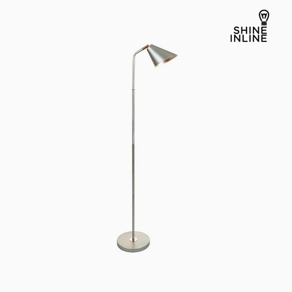 xekios Lampadaire Argent Aluminium (40 x 24,5 x 142 cm) by Shine Inline