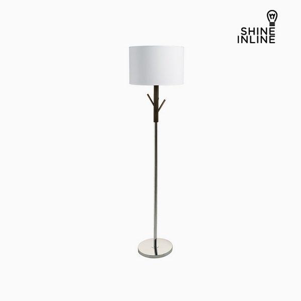 xekios Lampadaire Noir Bois de hêtre Aluminium (38 x 38 x 160 cm) by Shine Inline