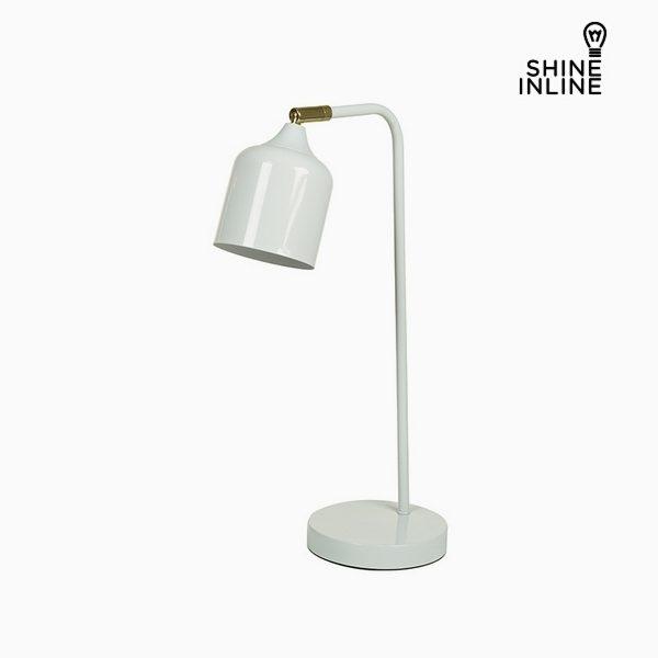 xekios Lampe de bureau Blanc Aluminium (26 x 15 x 47 cm) by Shine Inline