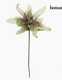 xekios Fleur Mousse Blanche Pourpre by Homania