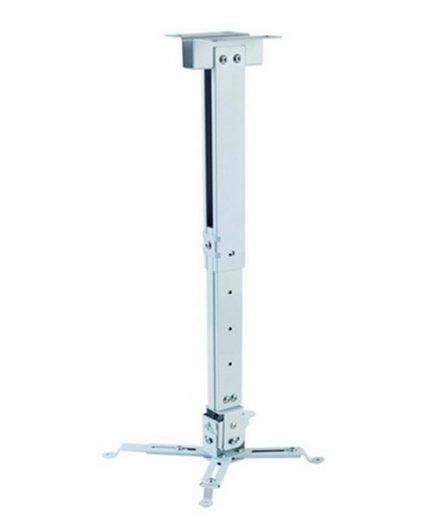 xekios Support de Toit Inclinable et Rotatif pour Projecteur iggual STP02-S IGG314579 -22,5 - 22,5° -15 - 15° Aluminium Blanc
