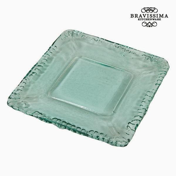 xekios Assiette Décorative Verre recyclé - Collection Pure Crystal Deco by Bravissima Kitchen