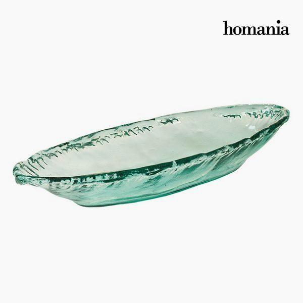 xekios Pièce centrale en verre recyclé - Collection Pure Crystal Deco by Homania