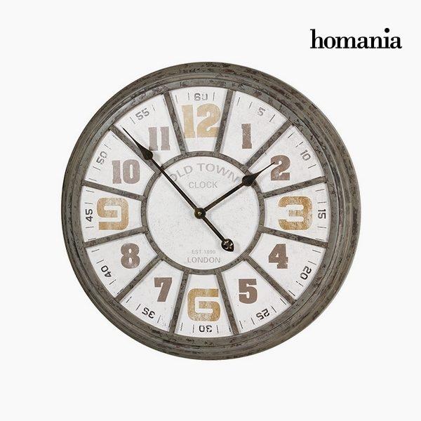 xekios Horloge Murale Fer (62 x 6,5 x 61 cm) by Homania