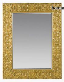xekios Miroir Carré Argent - Collection Queen Deco by Homania