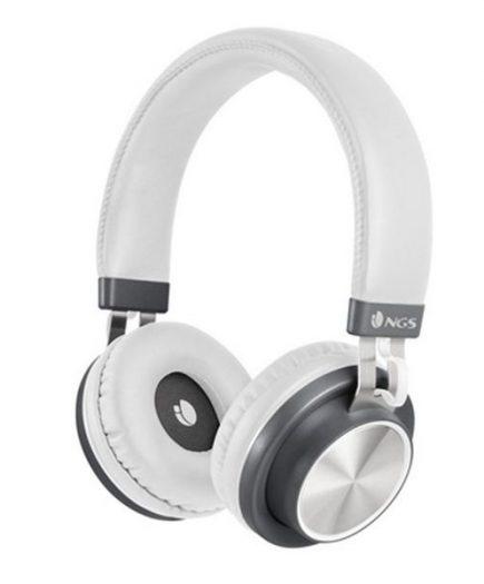 xekios Casques Bluetooth avec Microphone NGS ARTICAPATROLWHITE Blanc