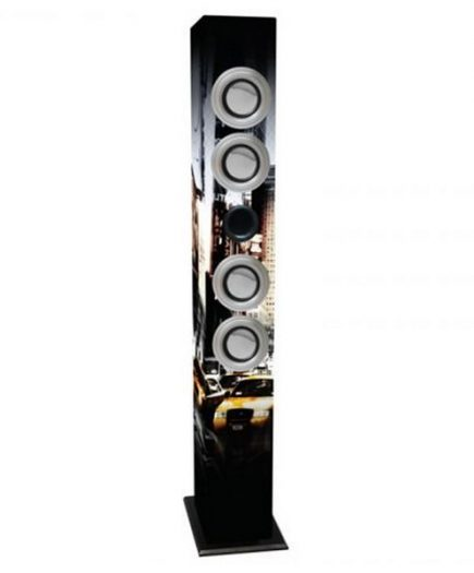 xekios Tour de Son avec Microphone Karaoké iWown 4 x 3W USB/SD/MMC