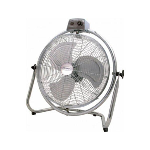 xekios Ventilateur de Sol Obergozo PWO1946 130W Acier inoxydable