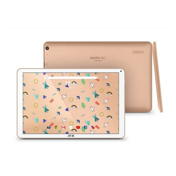 xekios Tablette SPC Heaven 10.1 9762208G 10,1 QC HD 2 GB Dorée