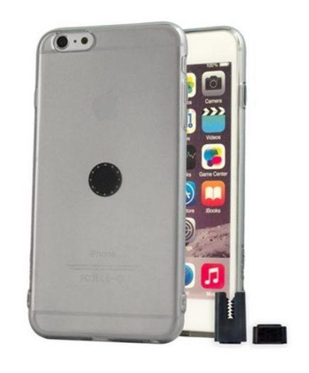 xekios Protection pour téléphone portable STIKGO STIK00017 iPhone 6S Plus CarClip TPU Gris