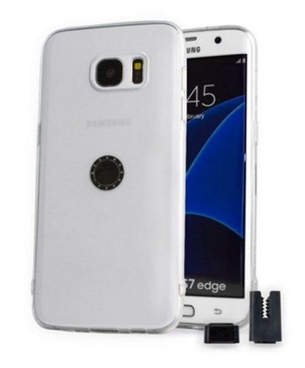xekios Protection pour téléphone portable STIKGO STIK00025 Samsung S7 Edge CarClip TPU Transparent