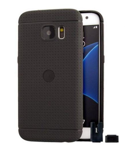 xekios Protection pour téléphone portable STIKGO STIK00051 Samsung S7 TPU Noir