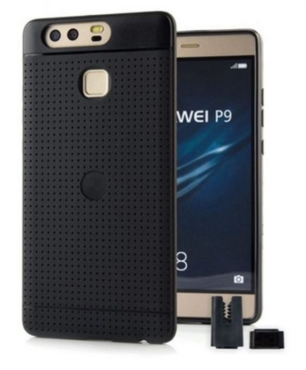 xekios Protection pour téléphone portable STIKGO STIK00071 Huawei P9 CarClip TPU Noir