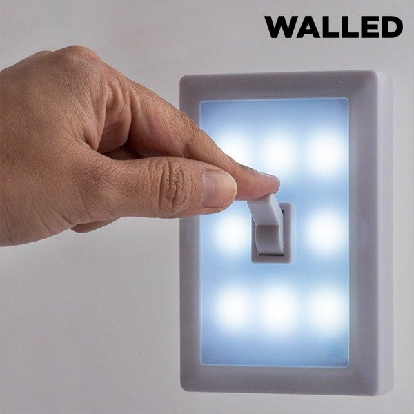 xekios Lampe Portative LED avec Interrupteur Walled SW15