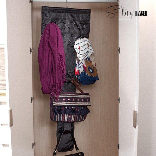 xekios Organisateur de Sacs et Accessoires Shiny Hanger Glam