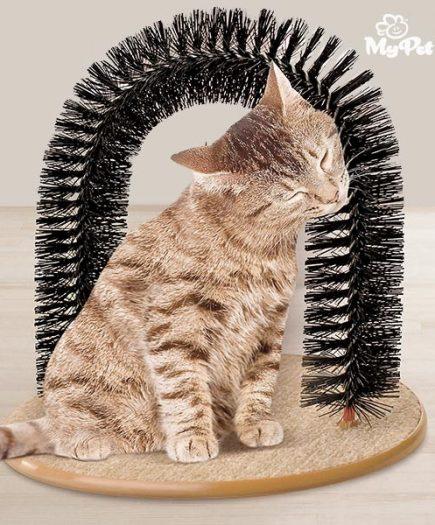 xekios Arche de massage pour chats My Pet EZ