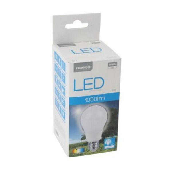 xekios Ampoule LED Sphérique Omega E27 12W 1050 lm 2800 K Lumière chaude