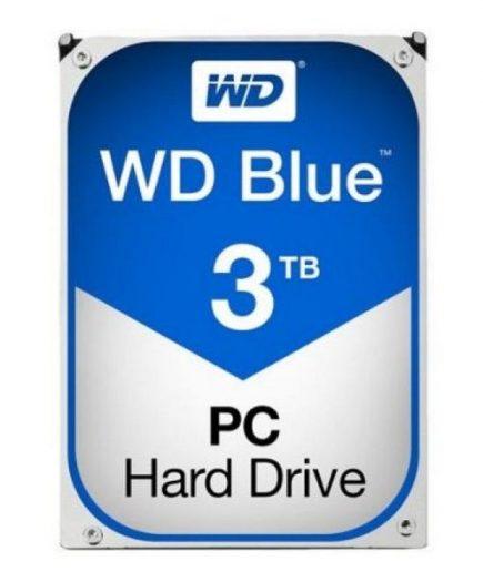 xekios Disque dur Western Digital Blue WD30EZRZ 3.5 3 TB Sata III 5400 rpm Buffer 64 MB