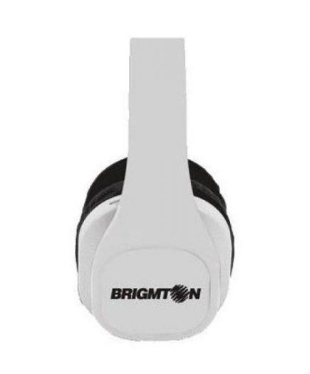 xekios Casque BRIGMTON BAU-M4-B MP3 SD Blanc