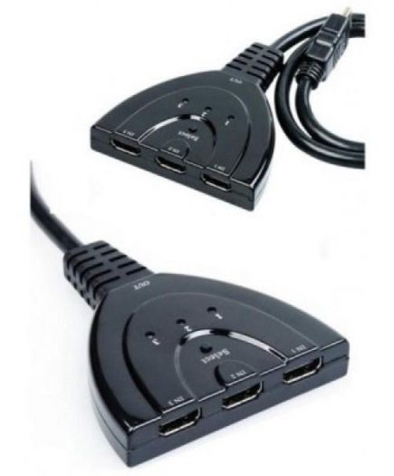 xekios Switch L-Link LL-CAB-1117 3 x HDMI Noir