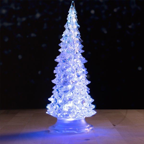 xekios Mini Sapin de Noël avec LED