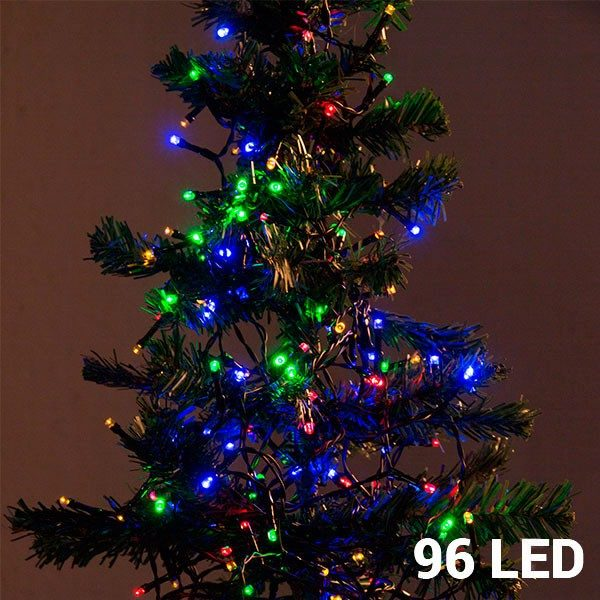 xekios Lumières de Noël Multicouleur (96 LED)