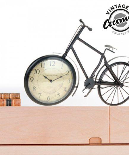 xekios Horloge de Table Bicyclette Vintage Coconut
