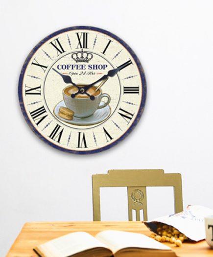 xekios Horloge Murale Café