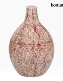 xekios Vase Grès (17 x 17 x 25 cm) - Collection Pure Crystal Deco by Homania