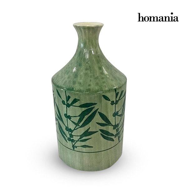 xekios Vase Grès (15 x 15 x 30 cm) - Collection Pure Crystal Deco by Homania