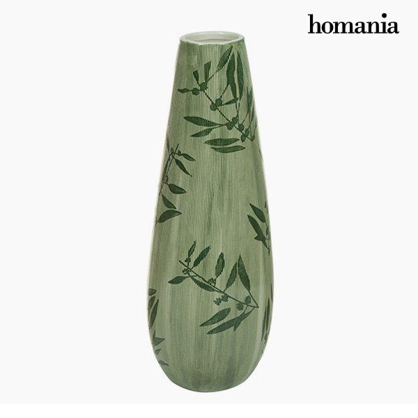 xekios Vase Grès (15 x 15 x 41 cm) - Collection Pure Crystal Deco by Homania