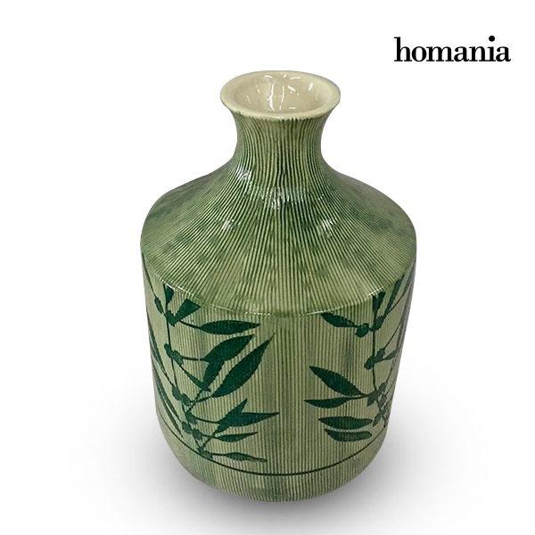 xekios Vase Grès (15 x 15 x 23 cm) - Collection Pure Crystal Deco by Homania