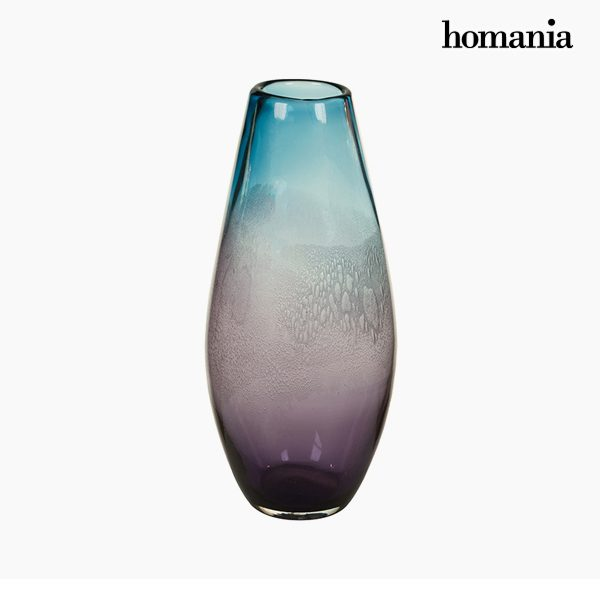 xekios Vase Verre (20 x 20 x 44 cm) - Collection Pure Crystal Deco by Homania
