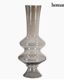 xekios Vase (23 x 23 x 97 cm) - Collection Pure Crystal Deco by Homania