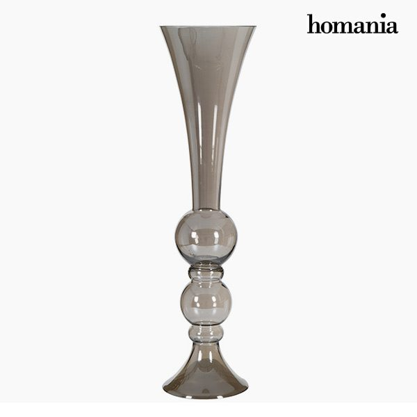 xekios Vase (21 x 21 x 88 cm) - Collection Pure Crystal Deco by Homania