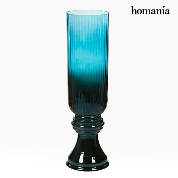 xekios Vase Verre (20 x 20 x 65 cm) - Collection Pure Crystal Deco by Homania