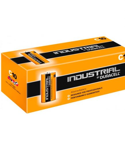 xekios Piles Alcalines DURACELL Industrial DURINDLR14C10 C 1.5V 7.75 Ah (10 pcs)