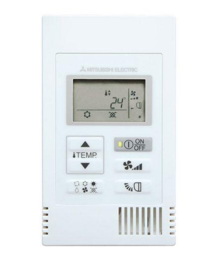 xekios Chronothermostat pour Air Conditionné Mitsubishi Electric PAC-YT52CRA Blanc