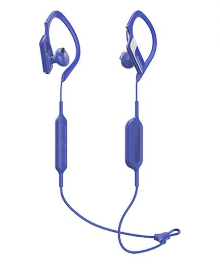 xekios Écouteurs de Sport Bluetooth avec Microphone Panasonic RP-BTS10E-A Waterproof Bleu
