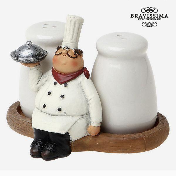 xekios Set de salière et poivrière  Bravissima Kitchen 8861 (2 pcs)