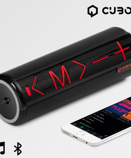 xekios Enceinte Bluetooth avec Support CuboQ Cylinder