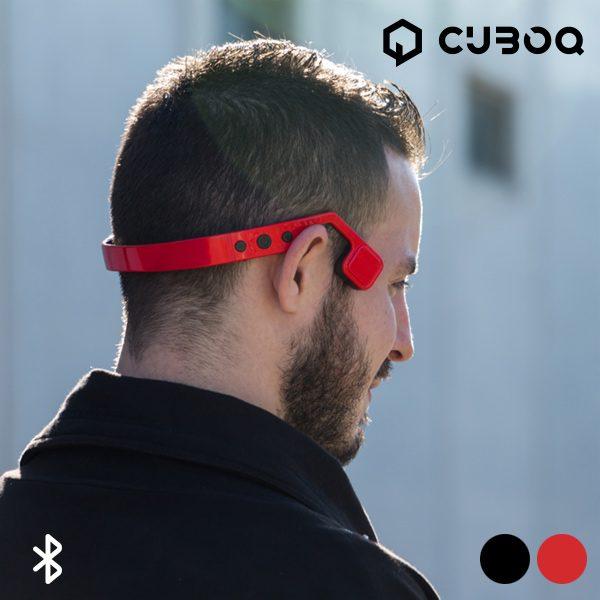 xekios Écouteurs Bluetooth à Conduction Osseuse CuboQ