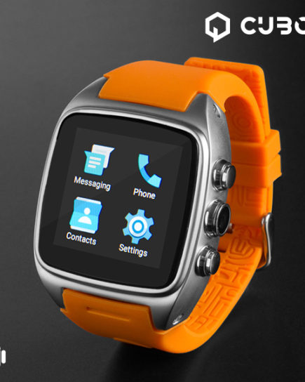 xekios Android Watch Phone CuboQ