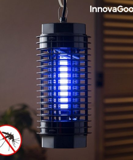 xekios Lampe Anti-Moustiques KL-1500 InnovaGoods 4W Noire