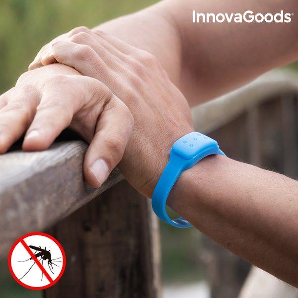 xekios Bracelet Anti-Moustiques à la Citronnelle InnovaGoods