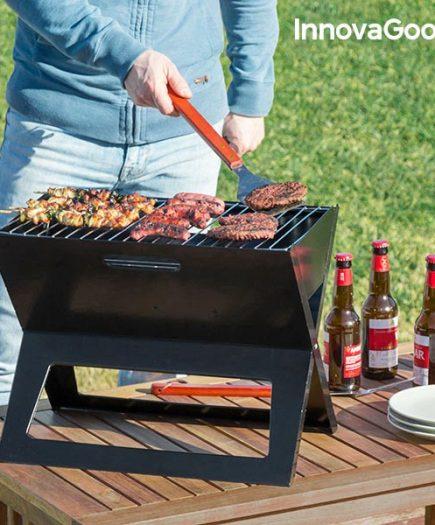 xekios Barbecue au Charbon Portable et Pliable InnovaGoods