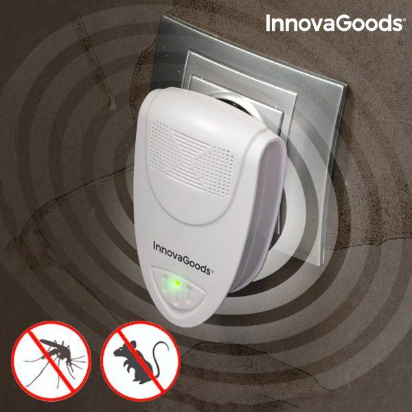 xekios Répulsif Ultrasons d'insectes et de Rongeurs Mini InnovaGoods