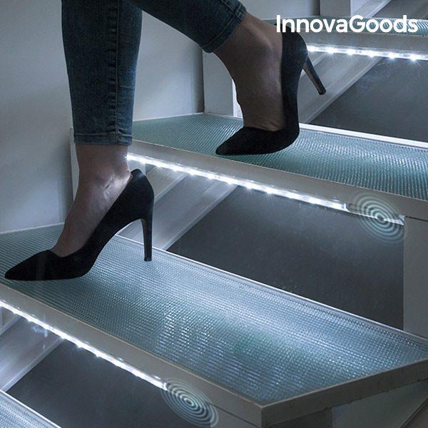 xekios Tubes LED avec Capteur de Mouvements InnovaGoods (Pack de 2)