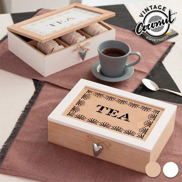 xekios Boîte vintage à infusions Tea